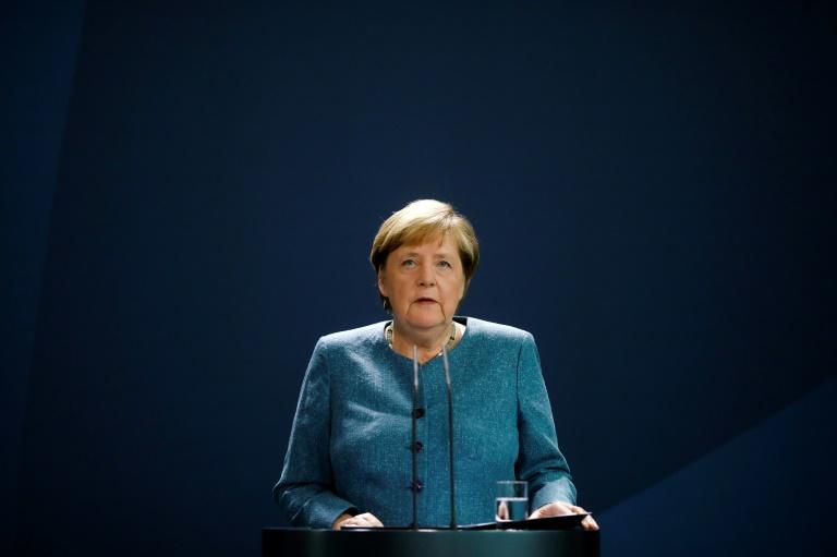 Merkel will Gesundheitsämter stärken (© 2020 AFP)