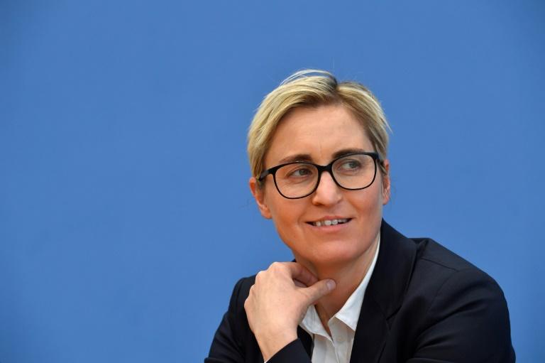 Linkenvorsitz-Kandidatin Hennig-Wellsow nennt Bedingungen für Rot-Rot-Grün (© 2020 AFP)