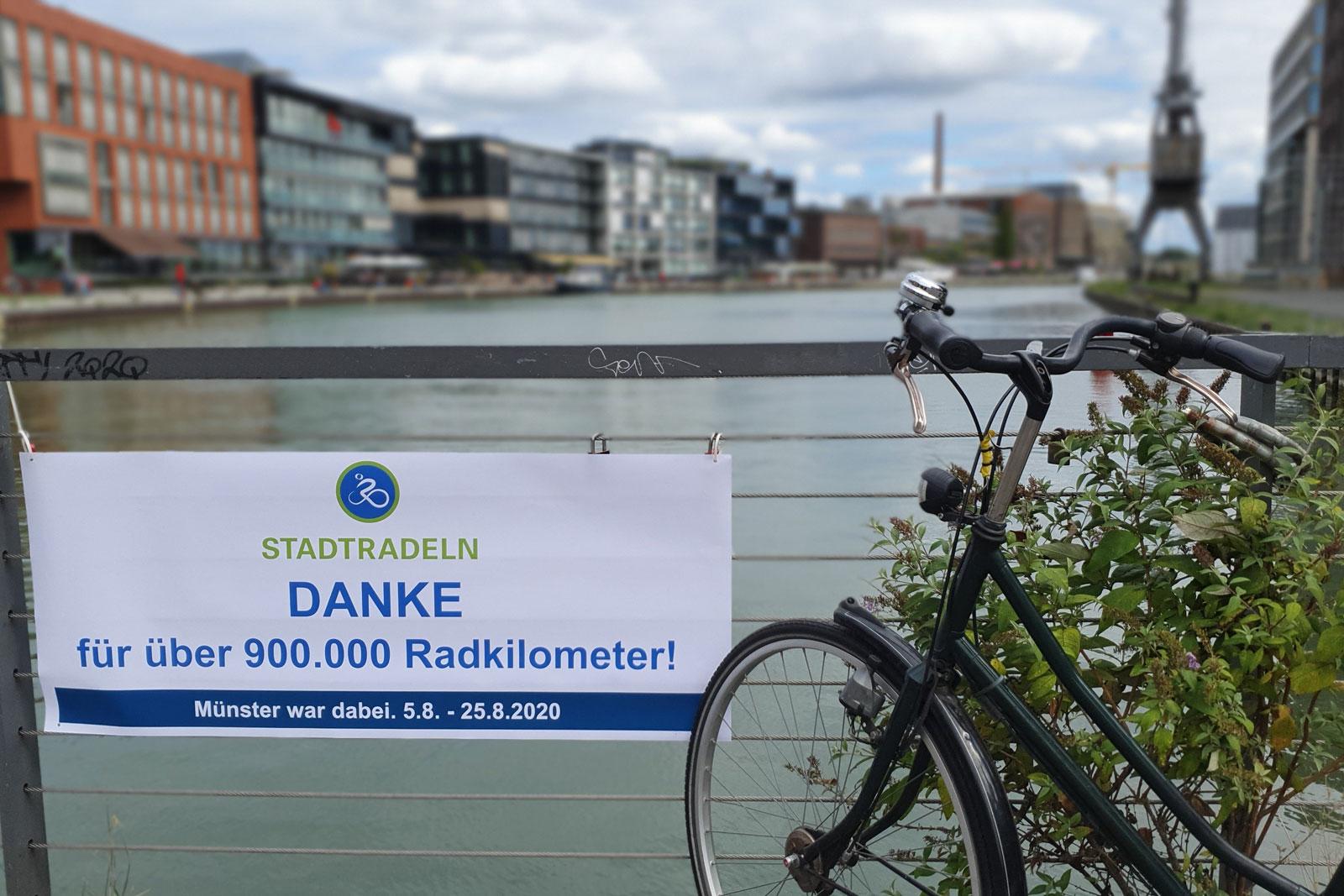"""In Münster wurden 900.000 km """"erradelt"""" (Foto: Stadt Münster)"""