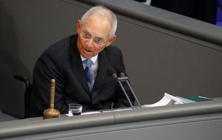 Schäuble: Gesellschaft muss Corona-Erfahrungen für Wandel nutzen (© 2020 AFP)