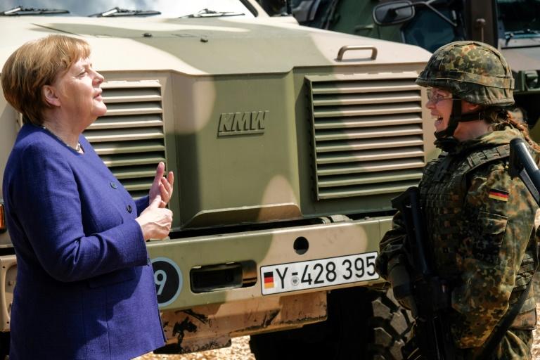 """""""Welt"""": Einführung weiblicher Dienstgrade in Bundeswehr in Vorbereitung (© 2020 AFP)"""