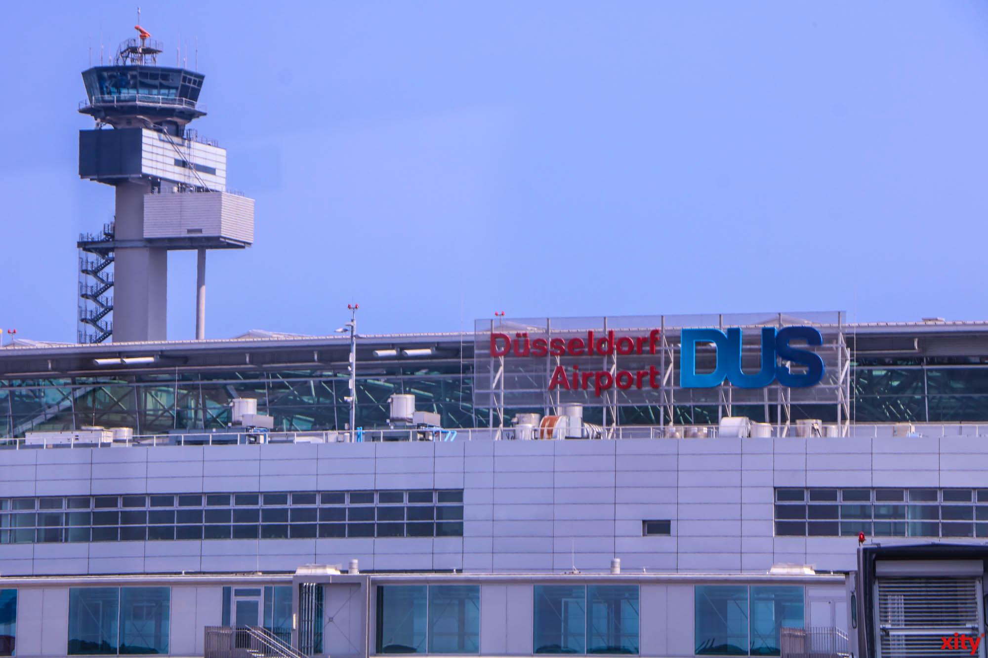 Die Fluggesellschaft RyanAir schliesst ihre Basis am Düsseldorfer Flughafen (Foto: xity)