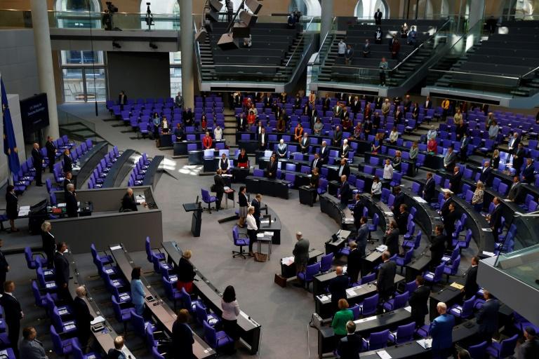 Bundestag debattiert über Aufnahme von Flüchtlingen (© 2020 AFP)