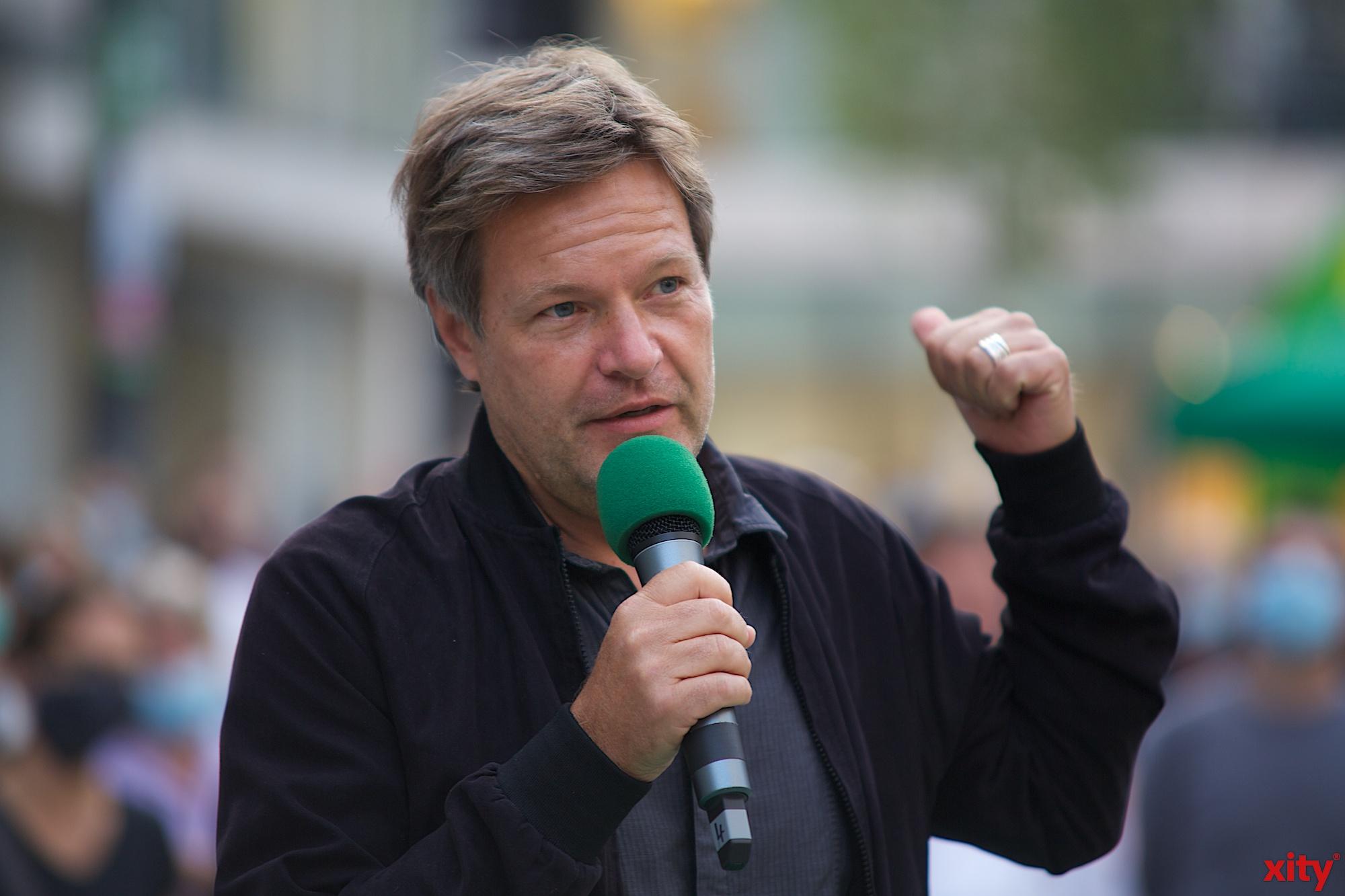 Robert Habeck, der Bundesvorsitzende von Bündnis 90/Die Grünen(Foto: xity)