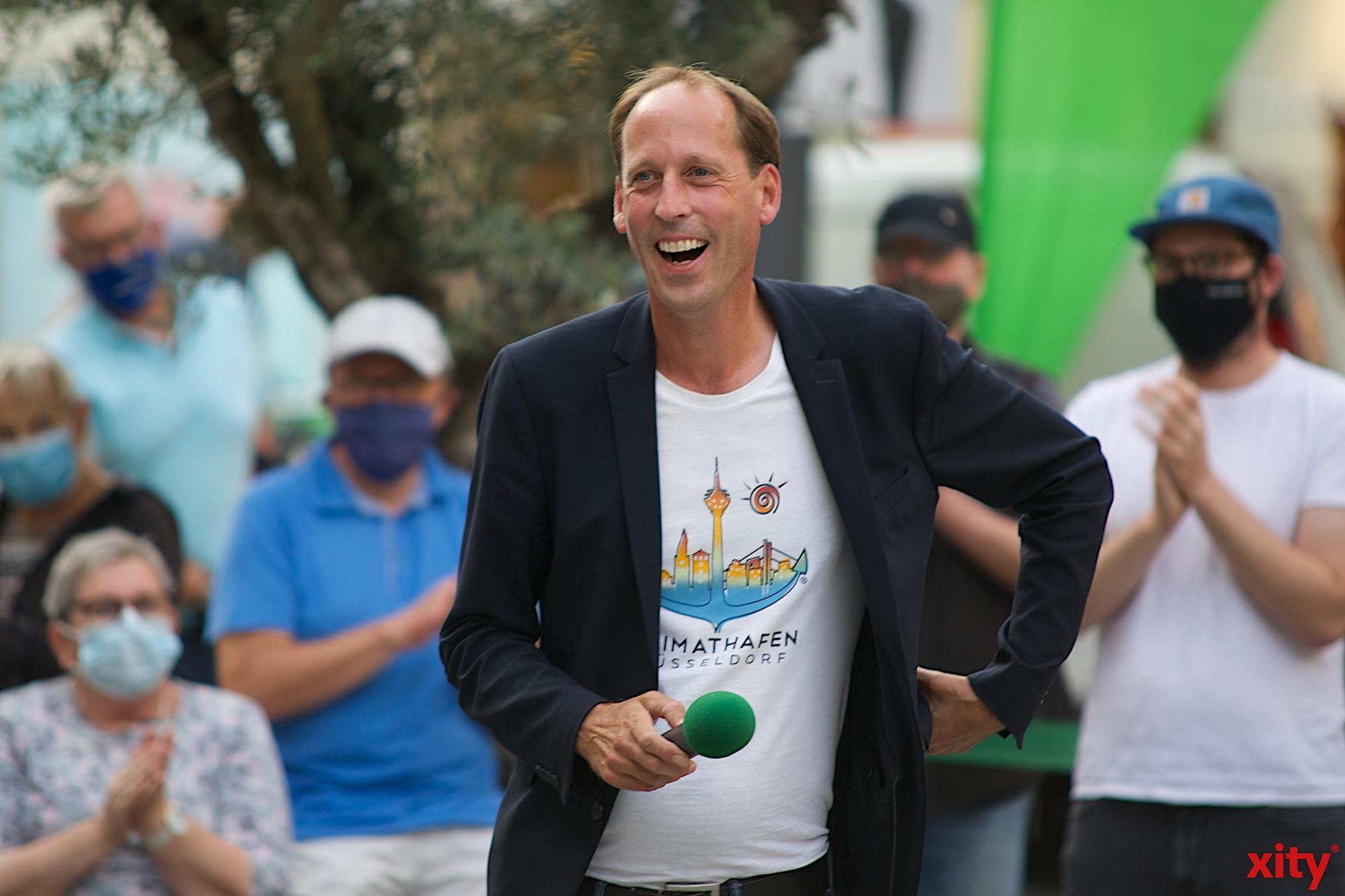 Stefan Engstfeld kandidiert für die Grünen in Düsseldorf als Oberbürgermeister (Foto: xity)