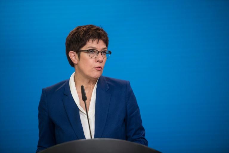 CDU-Spitze entscheidet über Bundesparteitag (© 2020 AFP)