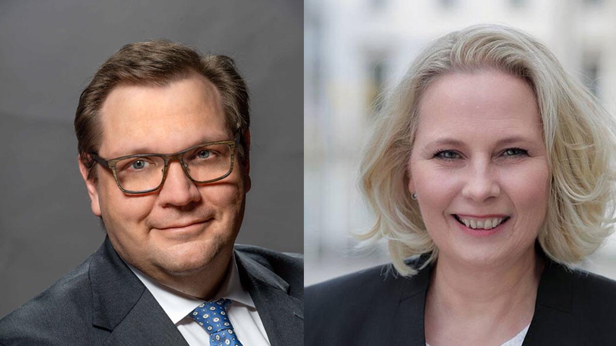 Frank Meyer und Kerstin Jensen (Foto: Stadt Krefeld, Presse und Kommunikation / CDU)