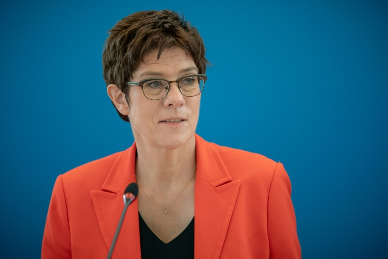 CDU verkürzt ihren Parteitag wegen Pandemie auf wenige Stunden (© 2020 AFP)
