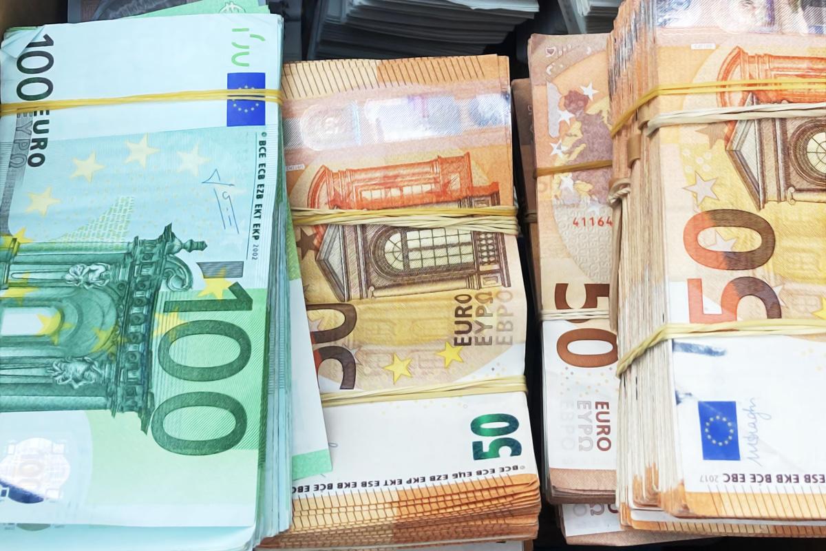 Der Krefelder Zoll beschlagnahmt über eine halbe Millionen Euro in Bar (Foto: OTS)