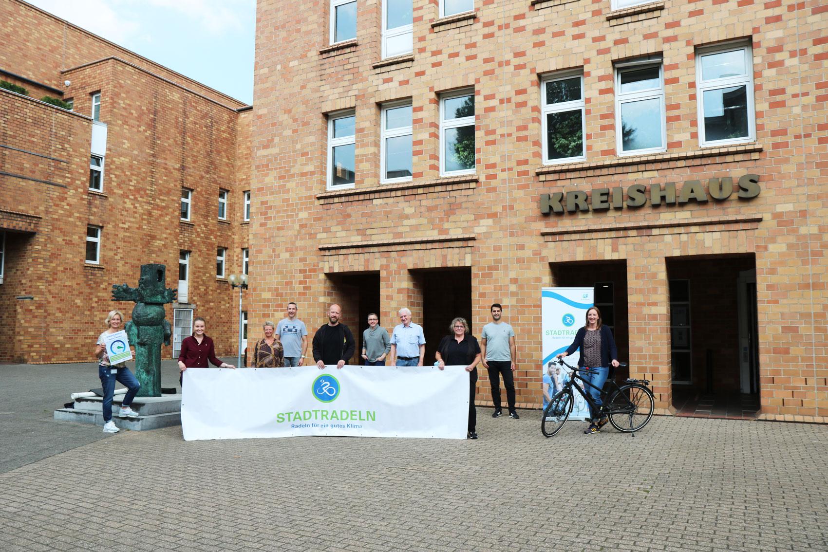 Treffen der STADTRADELN-Koordinatoren aus dem Kreisgebiet (Foto: Kreis Viersen)