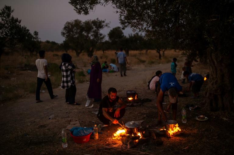"""UNHCR nennt Koalitionskompromiss zu Flüchtlingen """"wichtigen Schritt"""" (© 2020 AFP)"""