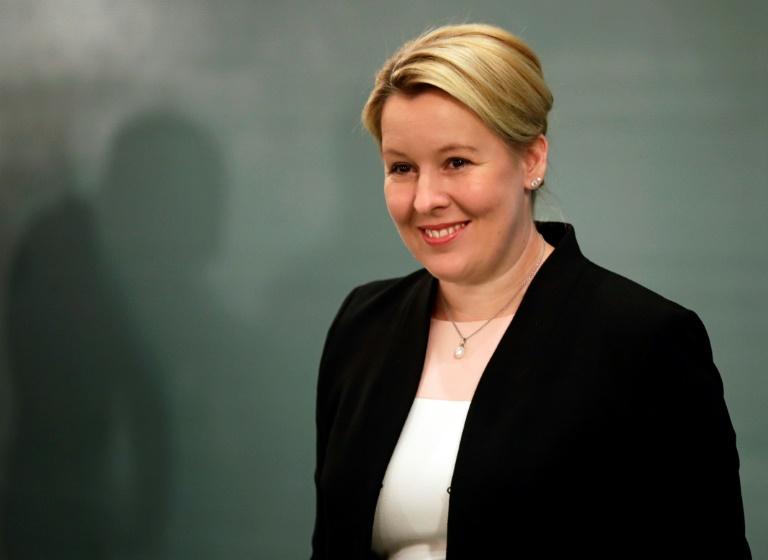 Bundesfamilienministerin Franziska Giffey will ins Berliner Abgeordnetenhaus (© 2020 AFP)