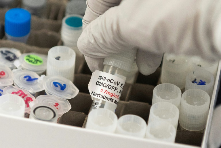 Biontech und Pfizer arbeiten intensiv auf Impfstoffzulassung hin (© 2020 AFP)