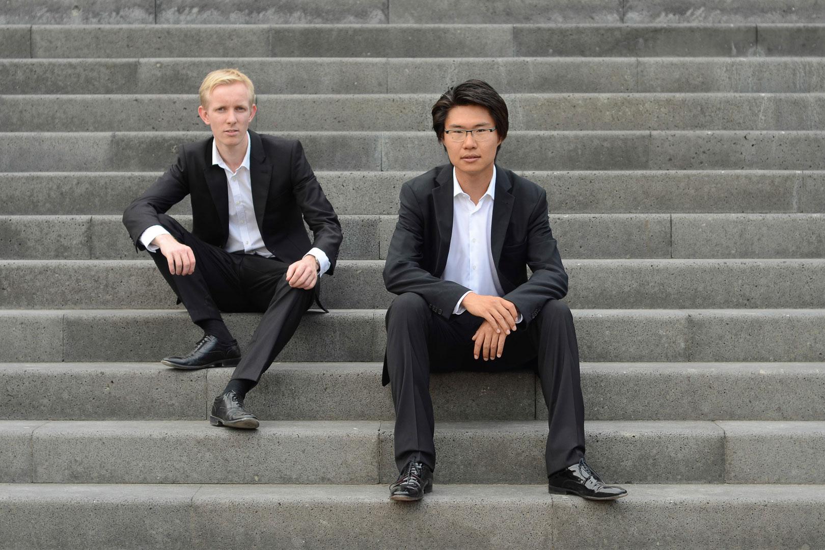 Bariton Benjamin Hewat-Craw und Pianist Yuhao Guo (Foto: Sebastian Herzog-Geddes)