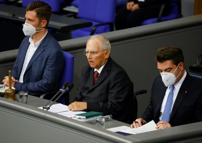 AfD will gegen Maskenpflicht im Bundestag klagen (© 2020 AFP)