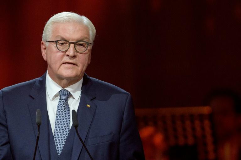 Steinmeier würdigt Arbeit von Juristen und Justizangestellten (© 2020 AFP)