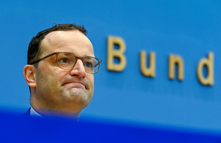 Mehrere CDU-Politiker fordern Spahn zu Kandidatur für Parteivorsitz auf (© 2020 AFP)