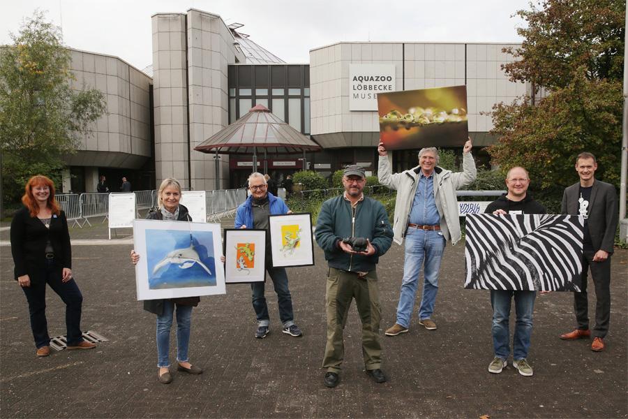 Anlässlich des Artenschutztages initiiert das Aquazoo Löbbecke Museum eine Kunstauktion (Foto: Stadt Düsseldorf/David Young)