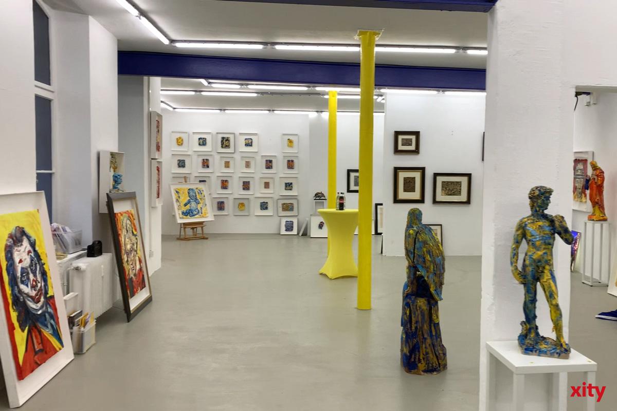 In der Europakunsthalle werden Werke des Künstlers Bernd Schwarzer gezeigt (Foto: xity)