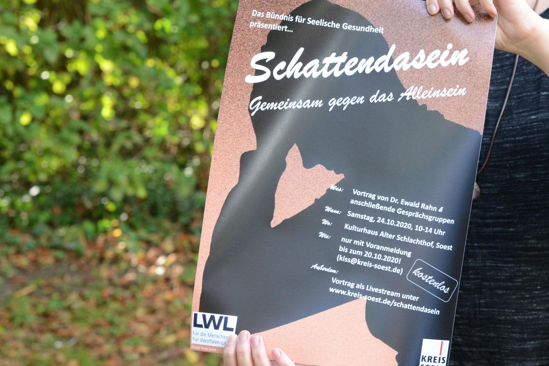 """Am Samstag, 24. Oktober 2020, findet die Veranstaltung """"Schattendasein: Gemeinsam gegen das Alleinsein"""" von 10 bis 14 Uhr im Schlachthof in Soest statt. (Foto: Judith Wedderwille/ Kreis Soest)"""