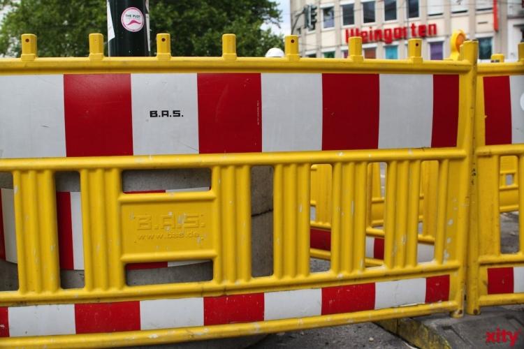 Netzgesellschaft Düsseldorf verlegt neue Stromleitung im Hafen (Foto: xity)