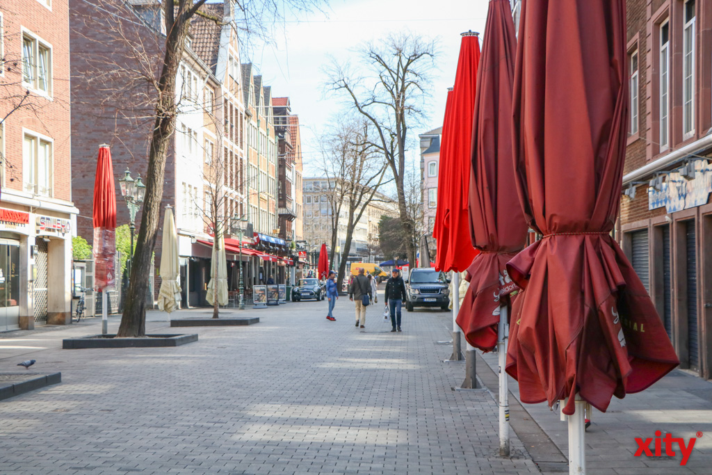Coronaschutz: Maßnahmen in Düsseldorf wurden weiter verschärft (Foto: xity)