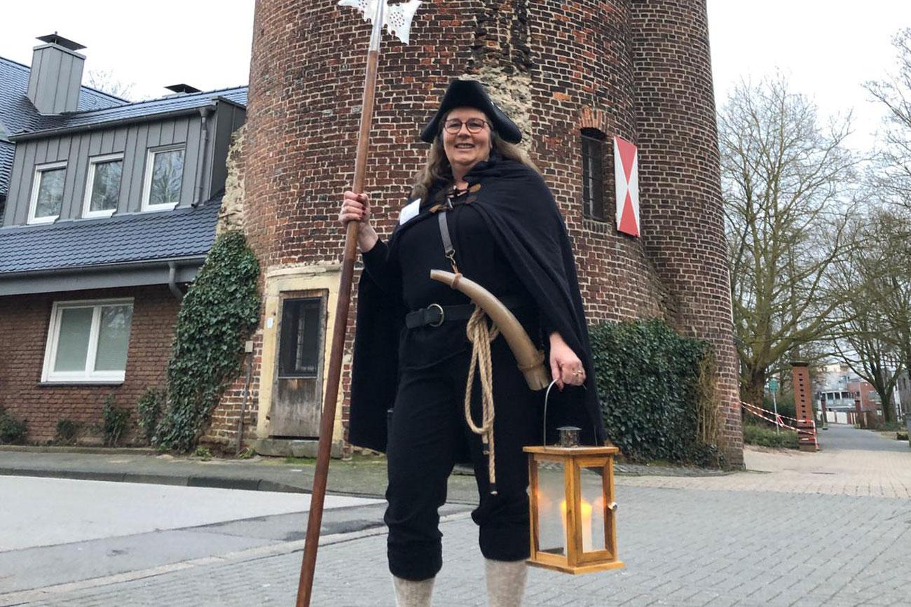 Die Nachtwächterin von Borken (Foto: Stadt Borken)