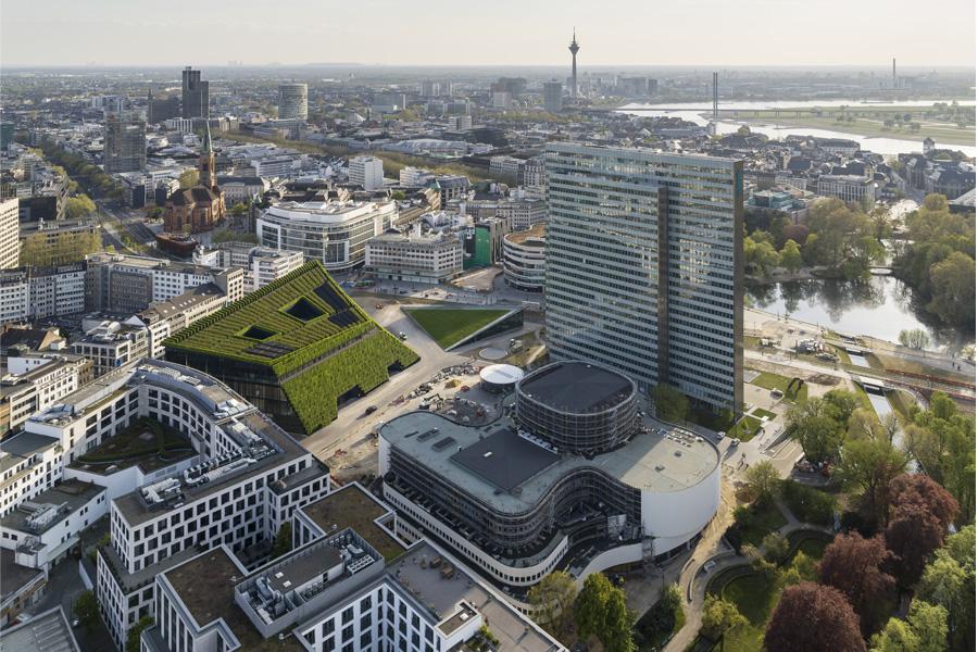 Kö-Bogen II (Foto: ingenhoven architects / HGEsch)