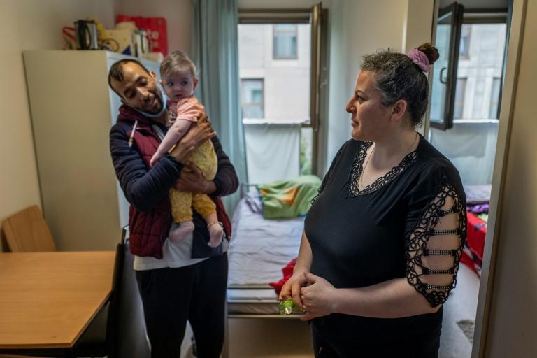 Merkel berät mit Migrantenverbänden über Folgen der Corona-Pandemie (© 2020 AFP)