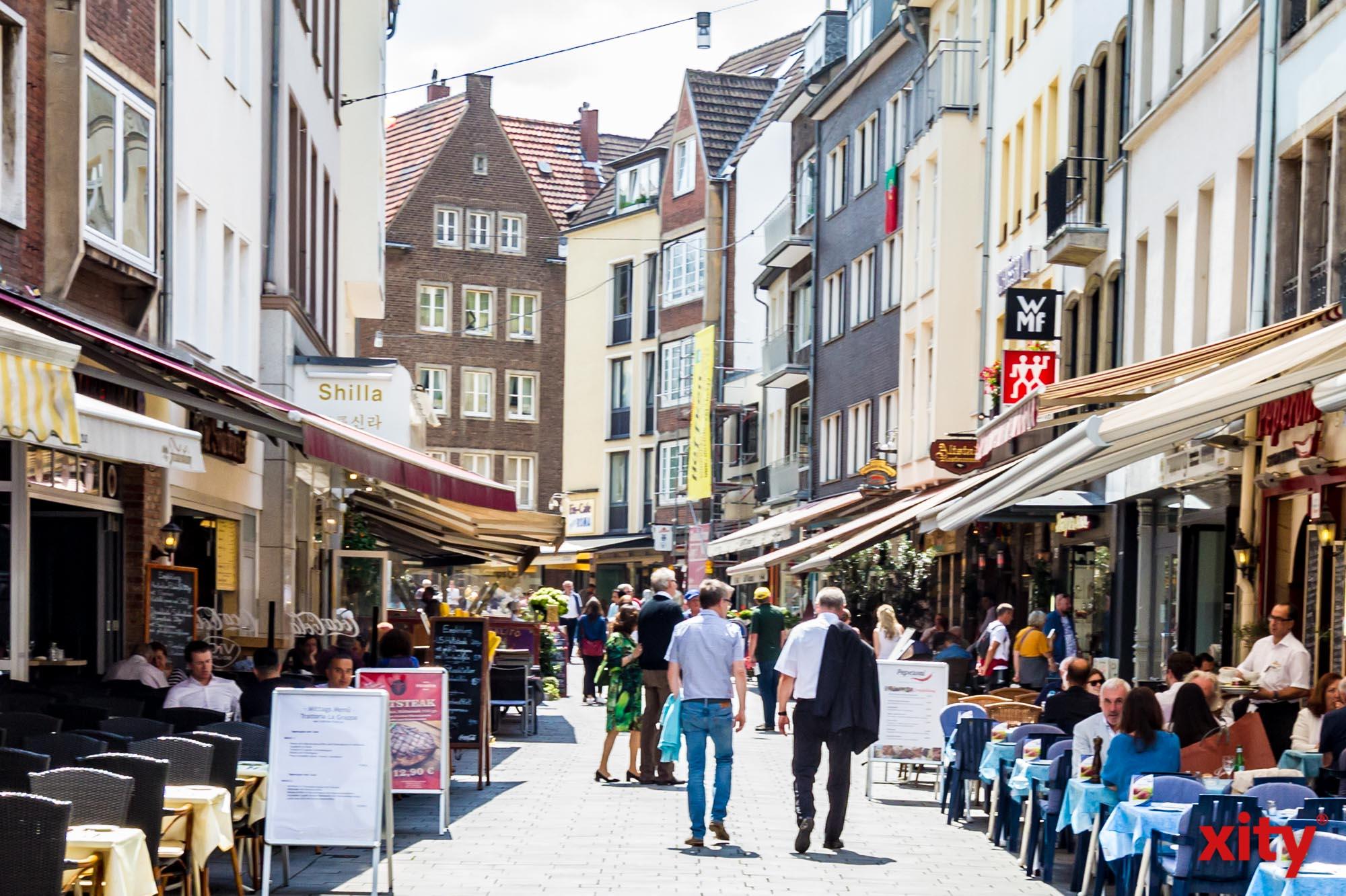 Neue Schutzmaßnahmen für Nordrhein-Westfalen treten auch in Düsseldorf in Kraft (Foto: xity)