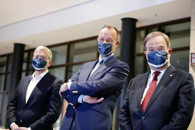 Erste Debatte der drei CDU-Vorsitzbewerber ohne scharfe Attacken (© 2020 AFP)