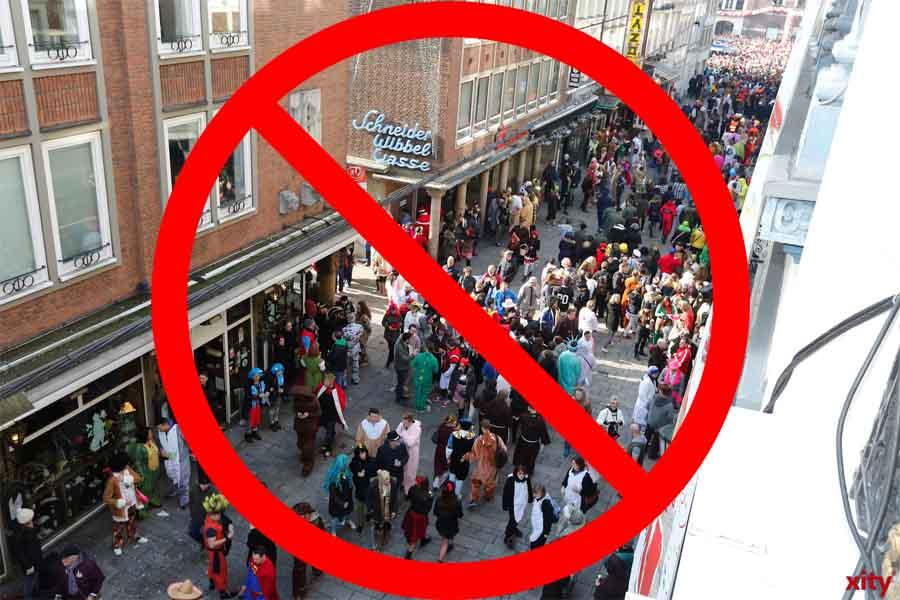 Corona-Schutzmaßnahmen: Verstärkte Kontrollen zum Karnevalsbeginn in NRW (Foto: xity)