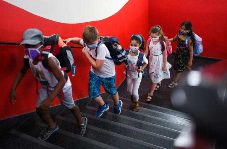 Bericht: Bereits mehr als 300.000 Schüler in Deutschland in Corona-Quarantäne (© 2020 AFP)