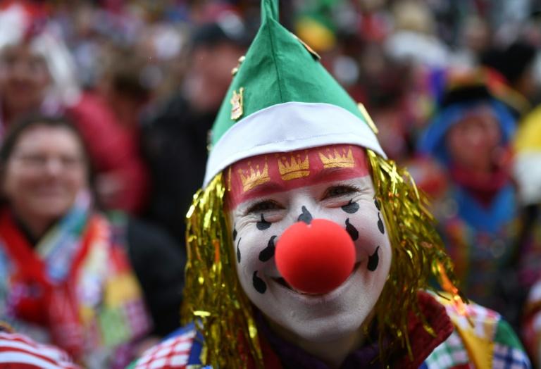 Stiller Karnevalsauftakt am 11.11. in Jeckenhochburg Köln (© 2020 AFP)