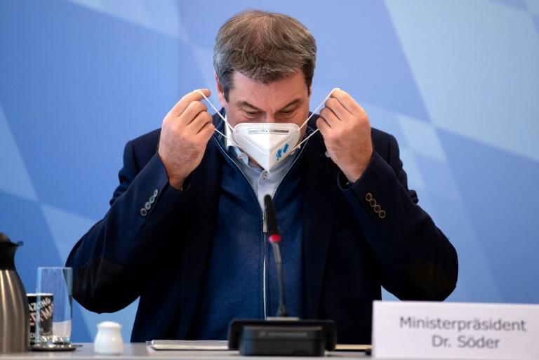 Söder meldet Bedenken gegen Pläne für Quarantäne bei Erkältungssymptomen an (© 2020 AFP)