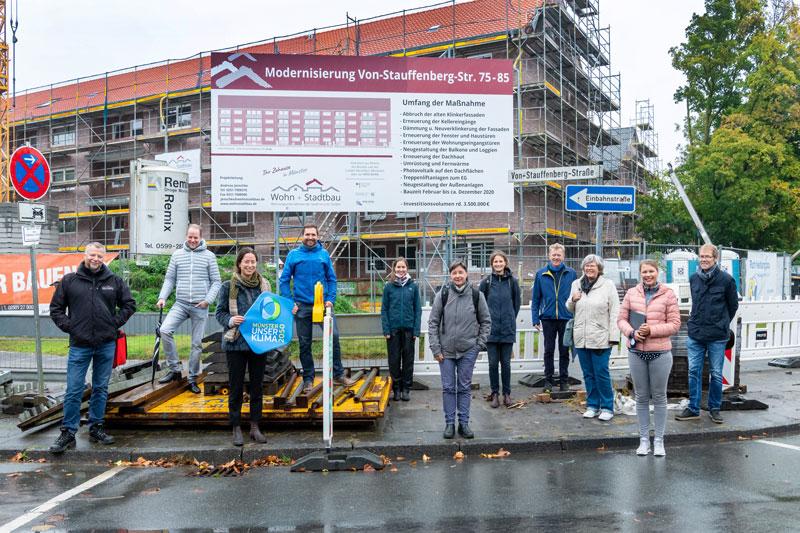 Private Vermieterinnen und Vermieter informierten sich über energieeffizientes Sanieren. (Foto: Stadt Münster)
