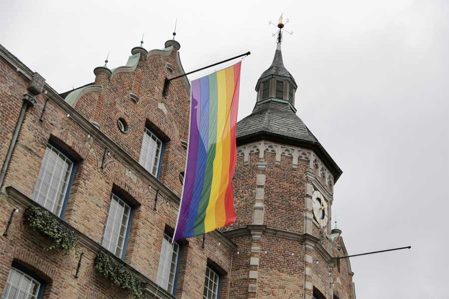 Düsseldorf nimmt auf Einladung von Warschaus OB Rafa? Trzaskowski am International Day of Tolerance teil (Foto: Stadt Düsseldorf/ Ingo Lammert)