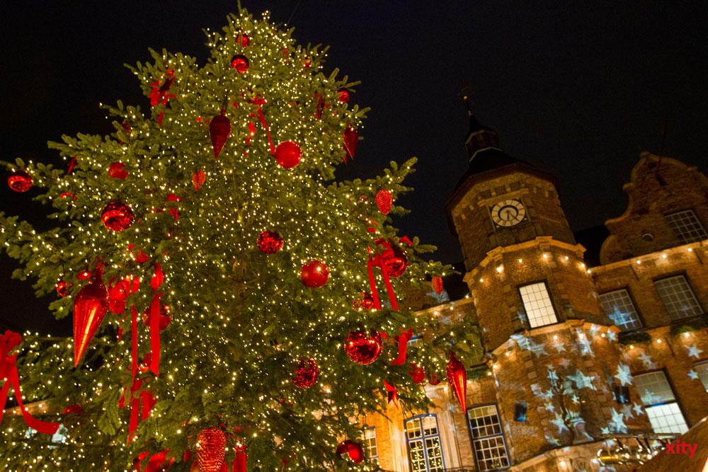 Garten-, Friedhofs- und Forstamt sorgt mit elf Christbäumen für vorweihnachtliche Stimmung in Düsseldorf. (Foto: xity)