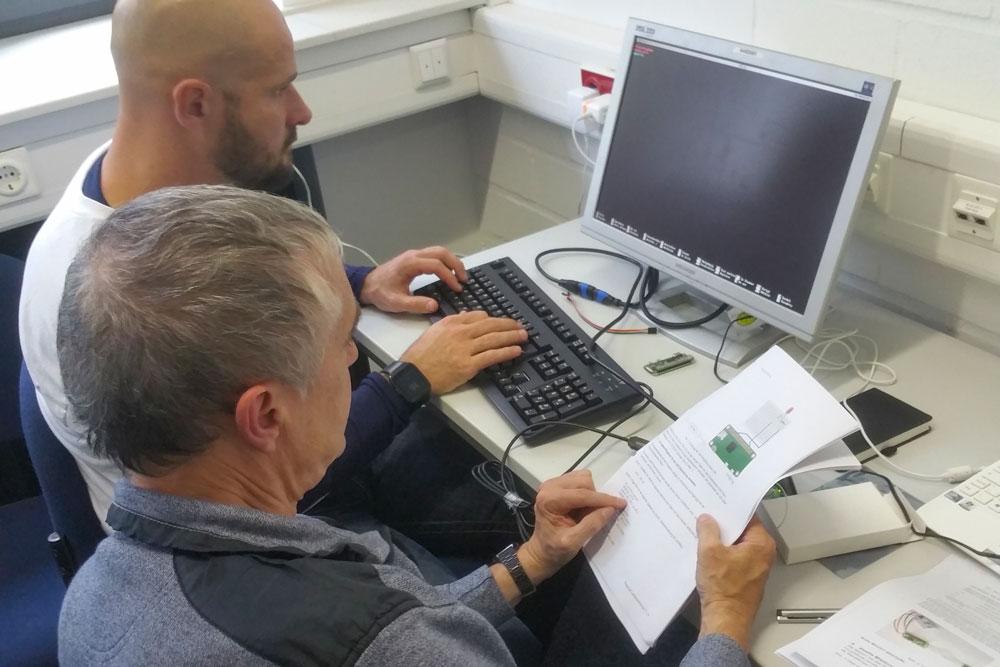 Rasperry-Pi-Workshop im Jahr 2019. In diesem Jahr findet dieser digital statt. (Foto: Hochschule Niederrhein)