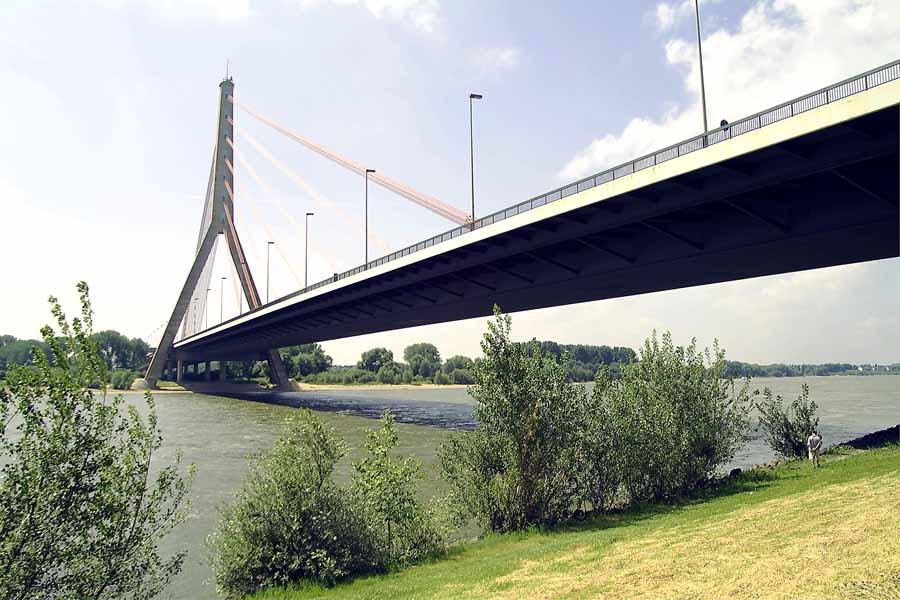 Fleher Brücke in Düsseldorf soll abgerissen werden (Foto: Landesbetrieb Straßenbau Nordrhein-Westfalen)