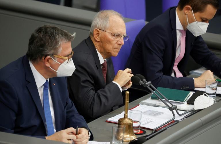 """Schäuble will """"alle rechtlichen Möglichkeiten"""" gegen Störer prüfen (© 2020 AFP)"""