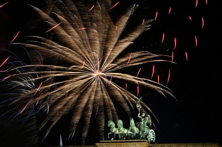Dieses Jahr keine Silvesterparty am Brandenburger Tor (© 2020 AFP)