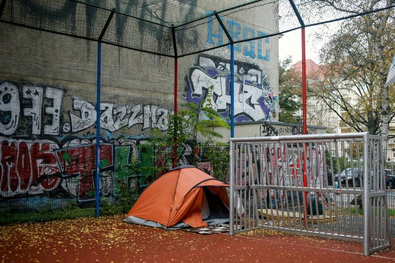 Wohnungslosenhilfe fordert mehr Unterstützung im Corona-Lockdown (© 2020 AFP)