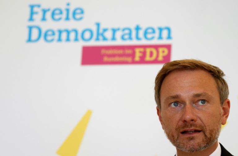 Lindner bekräftigt Regierungsambitionen der FDP (© 2021 AFP)