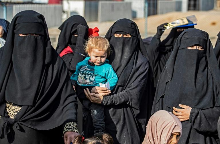 IS-Rückkehrerin aus Sachsen-Anhalt aus Untersuchungshaft entlassen (© 2021 AFP)