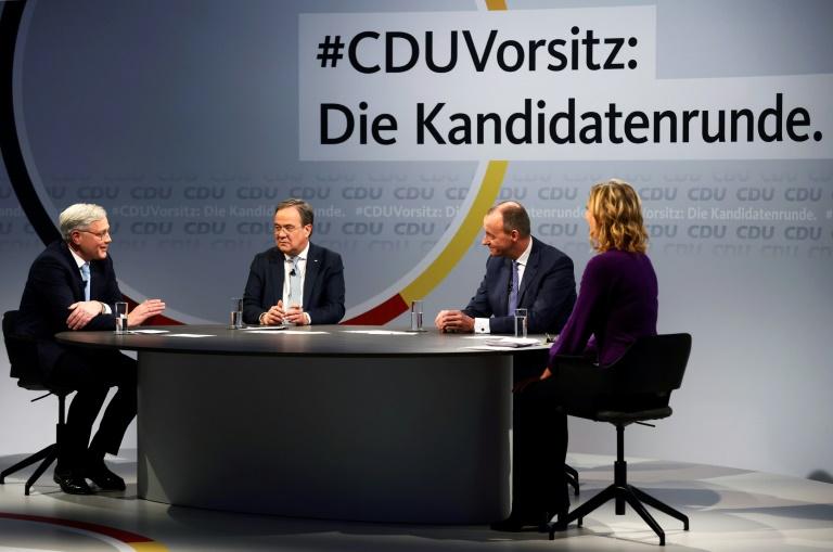 Letzter Schlagabtausch zwischen Kandidaten für den CDU-Vorsitz (© 2021 AFP)