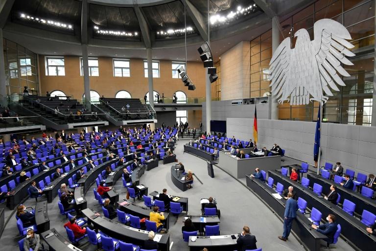 Bericht: Störaktion von AfD-Gästen im Bundestag soll Konsequenzen haben (© 2021 AFP)