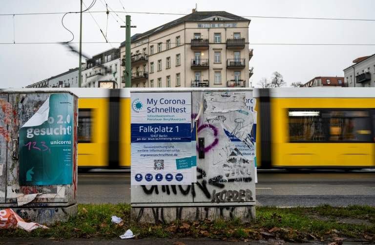 Mehr als 24.600 Corona-Neuinfektionen in Deutschland (© 2021 AFP)