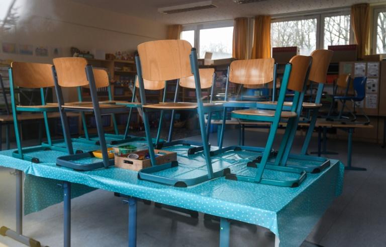 """Forderung nach """"kreativen Lösungen"""" für Unterricht in Corona-Krise (© 2021 AFP)"""