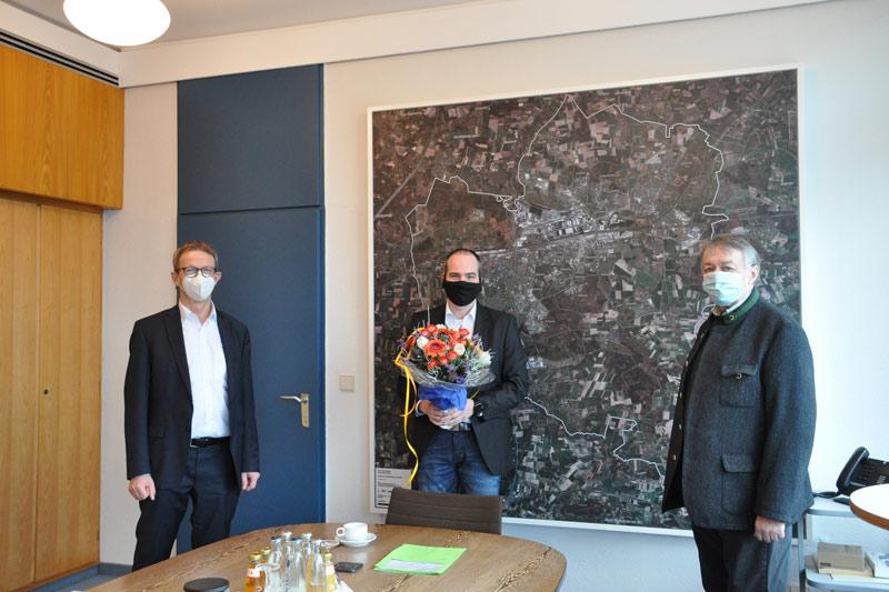 Amtseinführung Jens Krause. (Foto: Stadt Wolfsburg)